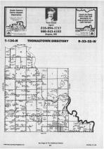 Map Image 007, Wadena County 1987